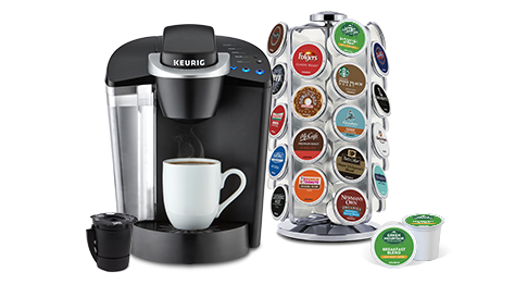 Keurig Coffee Makers The Water Reservoir Is Accessed On Left Hand Side Of Machine