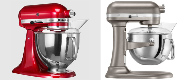 Kitchenaid Artisan vs Professional Mixer Reviews