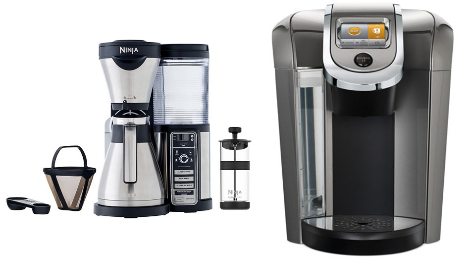Ninja Coffee Bar vs Keurig Brewer Comparison