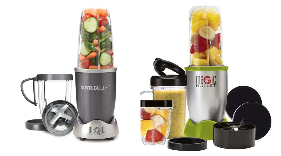 Nutribullet vs Magic Bullet Blender Comparison