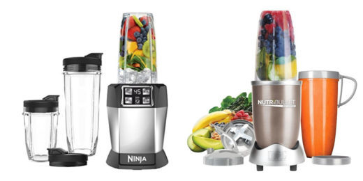 Nutri Ninja vs Nutribullet Blender Comparison
